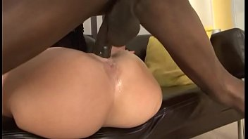 Hot blonde milf squirts hard on massive black cock