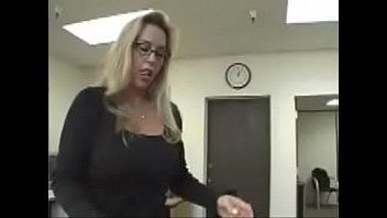 Blonde Secretary Spanked and Fucked
