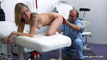 Photos of nurses examining nude men - Lucy gyno exam