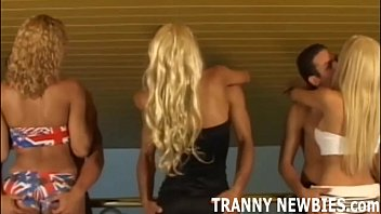 Theres a free spot in our tranny gangbang if you want to join