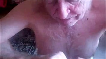 76yo Silverdaddy Sucking on Balls thumbnail