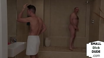 CFNM Dommes Humiliate Pathetic Tiny Dick In Showers