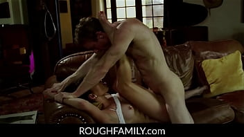 Dad Blackmailed his little step daughter (Athena Faris) - ROUGHFAMILY.com