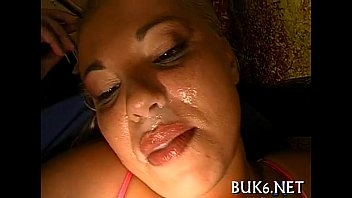 Babes acquire ejaculation shower