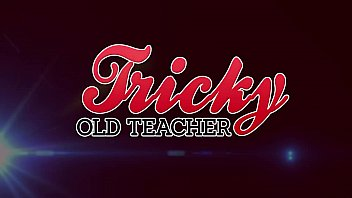 Tricky Old Teacher - Gabby does whatever it takes to get a head