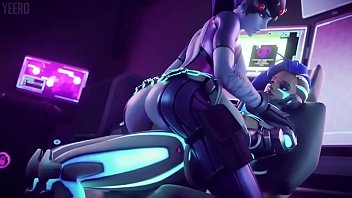 Overwatch Widowmaker gets her Ass Fucked