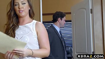 Big ass office bitch gets anal drilled by her boss Thumb