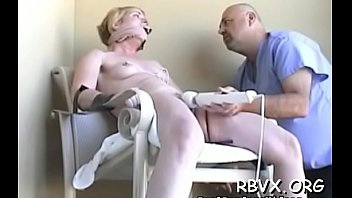 mature slut gets titillated during the time that being strapped taut min
