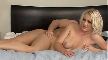 Marilyn Moore cuckolds her step dad and turns him into a creampie eating cuckold locked in chastity made to watch her fuck her lover