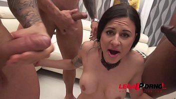 Billy Star intense 4on1 fuck session with Airtight DP & Piss Drinking SZ2430