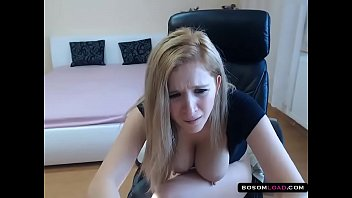 Gorgeous Hungarian girl milking her lactating tits
