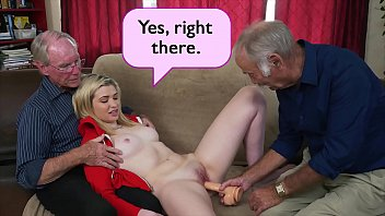 BLUE PILL MEN - Young Stacie Gets Schooled By Three Horny Old Men