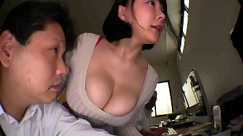 Busty Japanese Office Babe Gets Ganged In Elevator