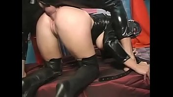 Violate sex - Captain latex violates a tight ass hole