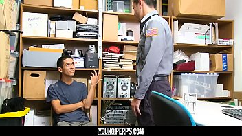 YoungPerps - A Security Officer Buttfucks Alex Flores