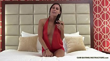 You are going to love the taste of your own cum CEI