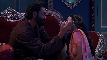 Babita is drugged and molested by babaji in Webseries Aashram