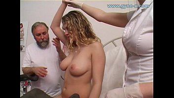 Young girls breast development Gyno exam of young busty girl