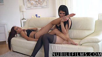 NubileFilms - Sexy Lesbians Make Each Other Cum