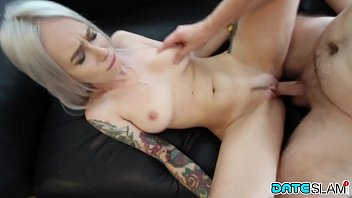 Date Slam - Sexy young Blonde babe gets fucked on first date
