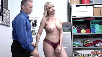 Teen mom articles - Desperate milf dana dearmond got caught on cctv shoplifting some items at the mall. the officer offers her to fuck her milf pussy to get her freedom.