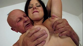 Utube old floopy tit - Claudias big tits drive an old man crazy