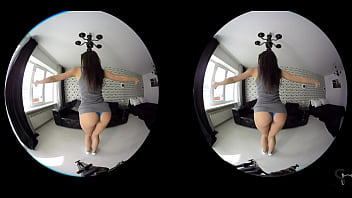 [VR] sexy girls teasing solo