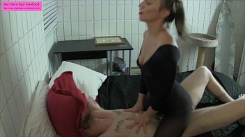 Tied in bed and fucked Tied up and denied