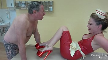 Play your penis My heels bigger than your cock - useless pathetic creature