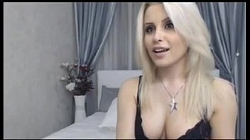 Sexy Blonde Smokes on Cam with light skin, hair   - combocams.com
