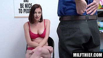 Milf Observed Hiding Items From The Storefront On Her Person, And The Officer Fucks Her - Sovereign Syre