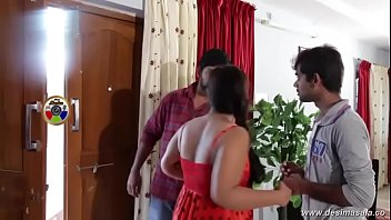desimasala.co - Telugu Aunty With Huge Cleavage and Boobs Enjoyed By Young Boy
