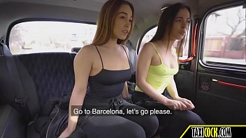two spanish girls have some public sex