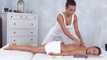 Massage Rooms Stunning Tanned Lesbians Have Intense Sensual Orgasms