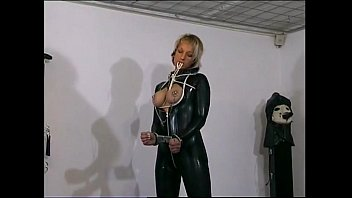 Lovely slave girl gets her tits tied up Vorschaubild