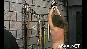 Full length hardcore adult movie Non-professional babe bawdy cleft shagged in non-professional bondage scenes