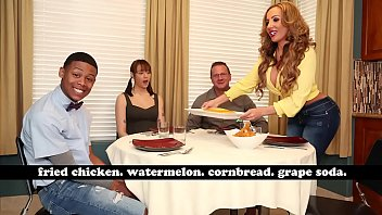Interracial adoption agencies - Bangbros - milf richelle ryan adopts lil ds big black cock, invites him over for dinner