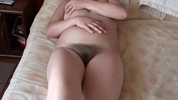 58-YEAR-OLD HAIRY MOTHER HAVING SEVERAL SUPER INTENSE ORGASMS - ARDIENTES69
