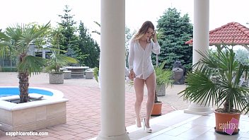 Windy day - lesbian scene with Misha Cross and Lola Taylor by SapphiX
