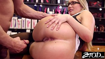 Aj Applegate takes it up the ass from her boss