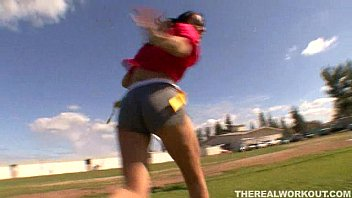 Lovely Football Babe Gets A Hut Hut Fucking From Her Football Coach