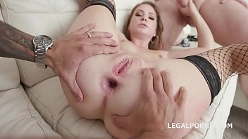 Balls Deep 4on1 Mila Fox gets Balls Deep Anal and DP, Gapes, swallow GIO1014