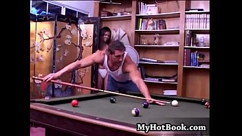 Shy Love Is Hanging Out In The Pool Room And Lovin