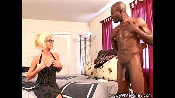 Blonde MILF Lets Black Neighbor Fuck Her