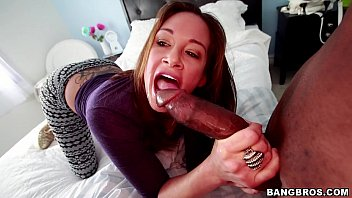 Crazy Torly Lane going off on this Thick Black Dick