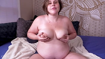 Extended Preview: Milky Chubby MILF Lactating Playing With Creamy Pussy Dirty Talk 63 sec
