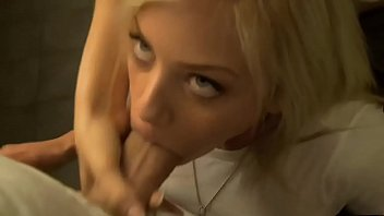 Blonde cum in mouth thumbnail