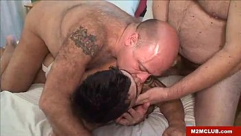 Hung mature bears fucking a queer