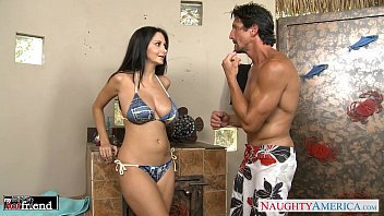 Bikini boobs ass asian america Brunette milf ava addams gets big knockers fucked