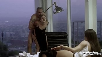 TROPHY WIFE REMY LACROIX ANALLY PUNISHED IN FRONT OF HER HUSBAND'S SECRETARY - Featuring: Remy Lacroix \/ Steven St. Croix